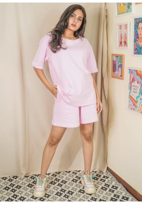 Super Soft Oversized Shorts Set!