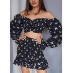 Smocked Top & Smocked Skirt Set!