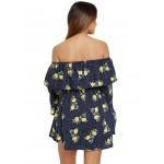 Off My Shoulder Floral Dress!