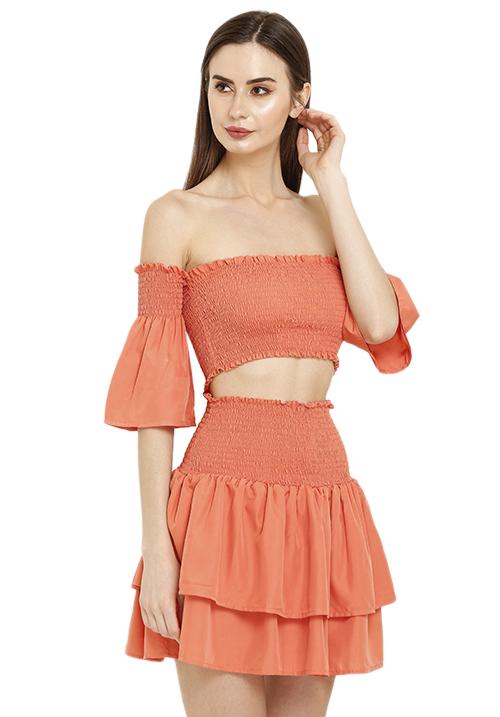 Smocked Skirt Set!