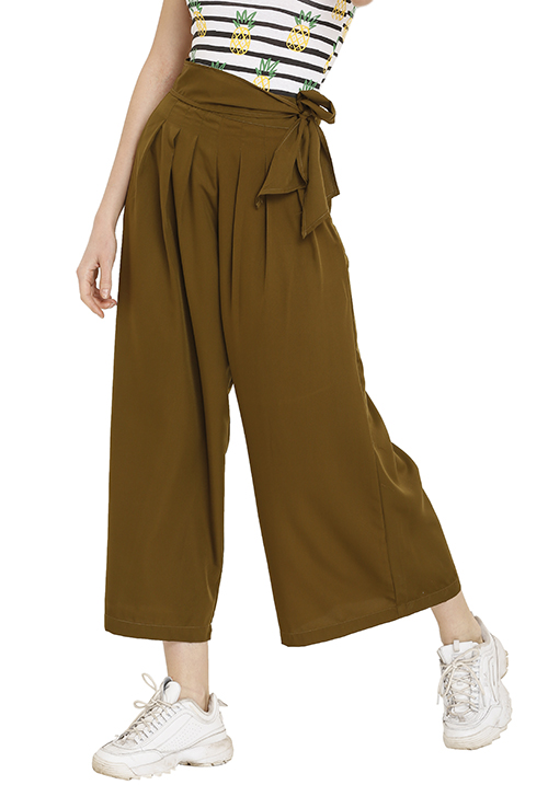 Culottes With Pleats!