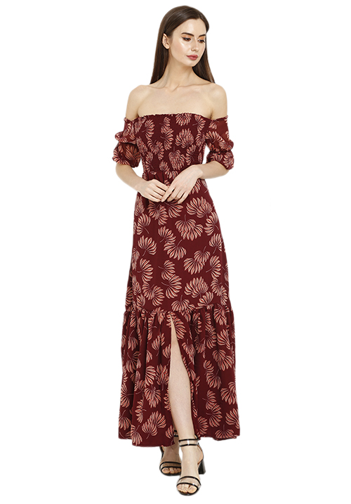 Smocked Maxi With Flare!