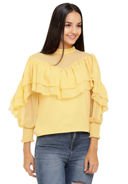Addicted To Ruffles Top!