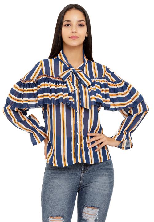 Ruffles and Stripes Shirt!