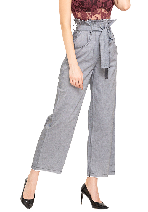 Waist Tie Up Trousers
